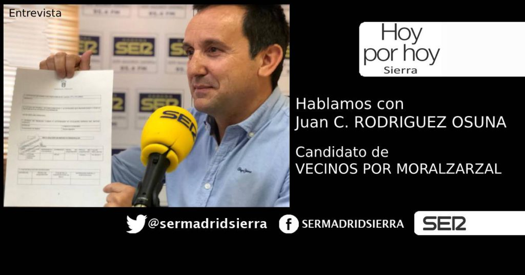 HOY POR HOY. ENTREVISTA A JUAN C. RODRIGUEZ OSUNA, CANDIDATO DE VXMP