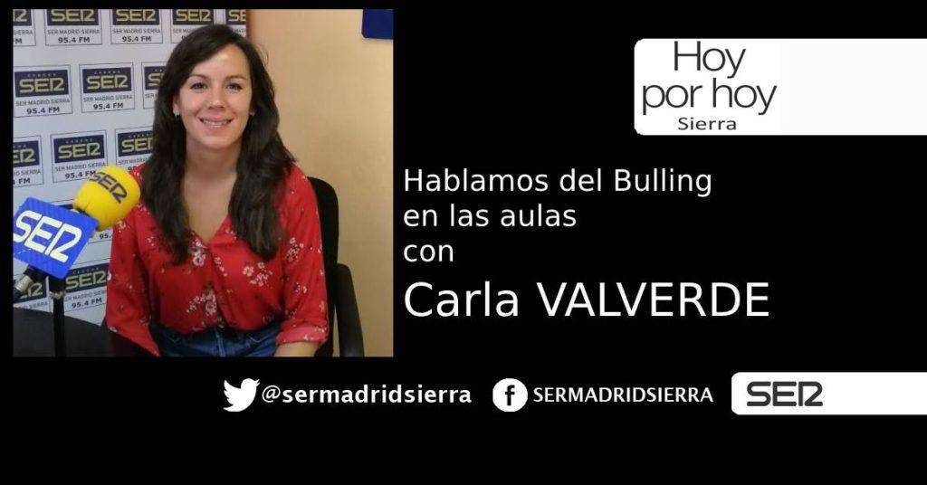 HOY POR HOY. HABLAMOS DEL BULLING CON CARLA VALVERDE