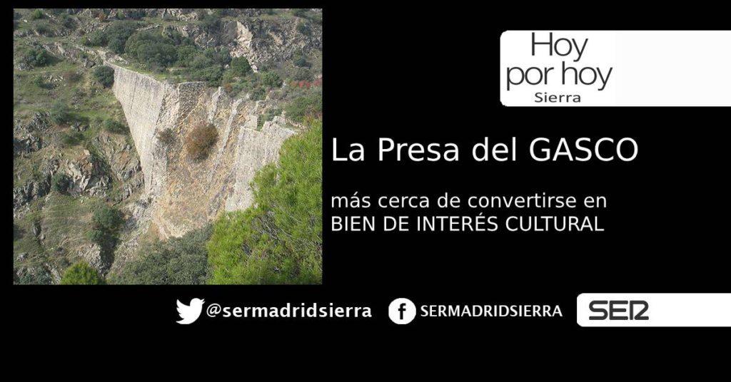HOY POR HOY. RICARDO ROQUERO NOS HABLA DE LA PRESA DEL GASCO