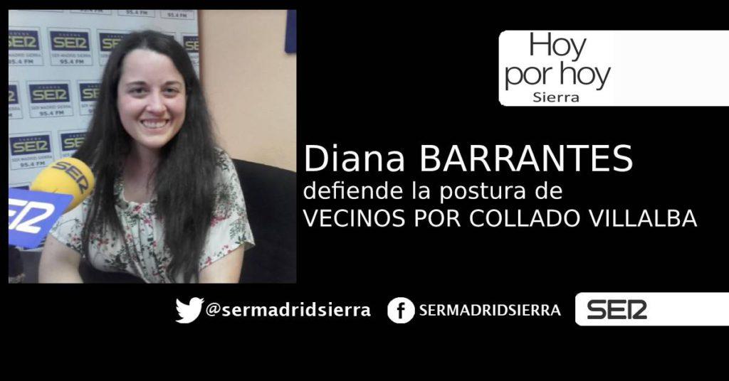 DIANA BARRANTES EXPLICA LA POSTURA DE «VECINOS» ANTE EL PLENO DEL 15 DE JUNIO