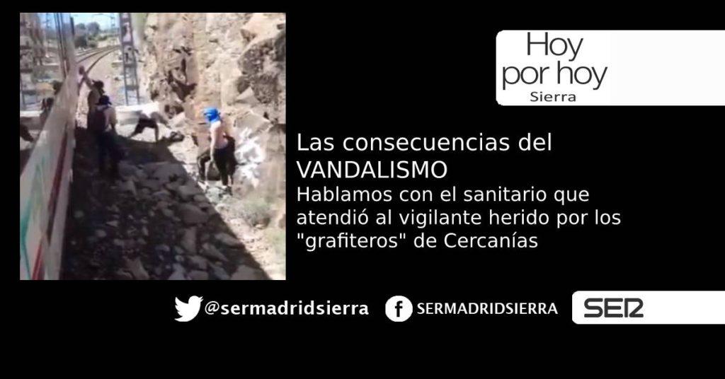 HOY POR HOY. LAS CONSECUENCIAS DEL VANDALISMO GRAFITERO EN CERCANÍAS