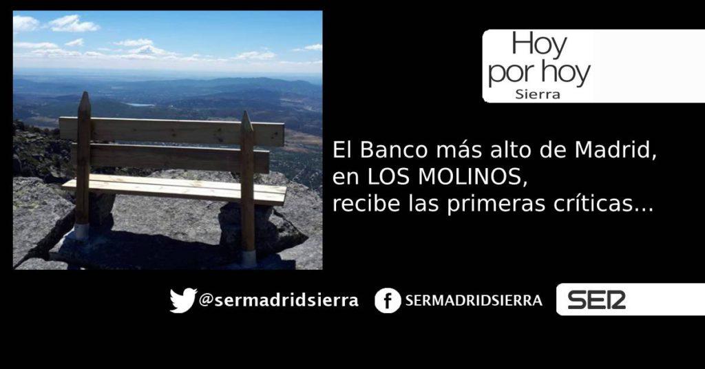 HOY POR HOY. PRIMERAS CRITICAS AL BANCO DE LOS MOLINOS