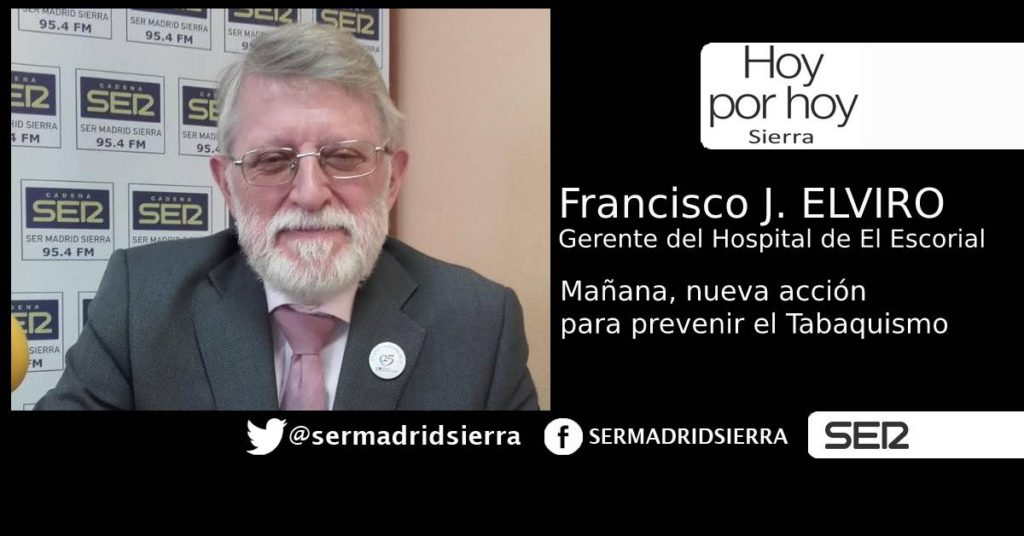 HOY POR HOY. NOS VISITA EL GERENTE DEL HOSPITAL DE EL ESCORIAL