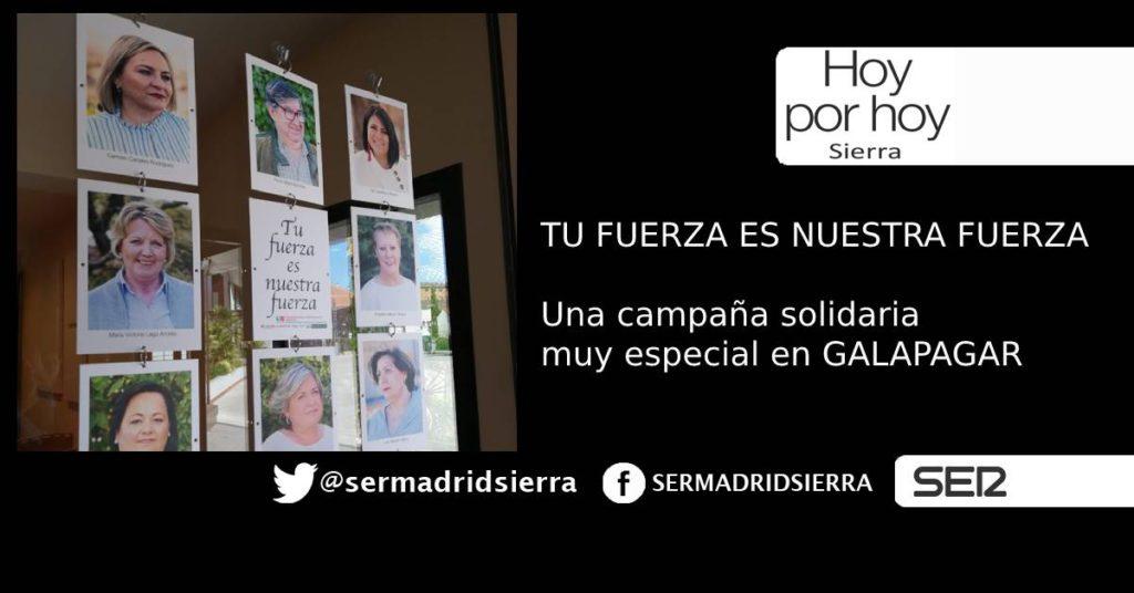 HOY POR HOY. CARMEN CANALES, EJEMPLO DE FUERZA Y SOLIDARIDAD