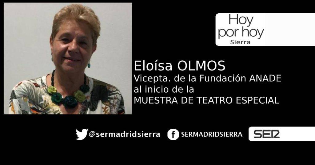 HOY POR HOY. ELOÍSA OLMOS, VICEPRESIDENTA DE LA FUNDACIÓN ANADE