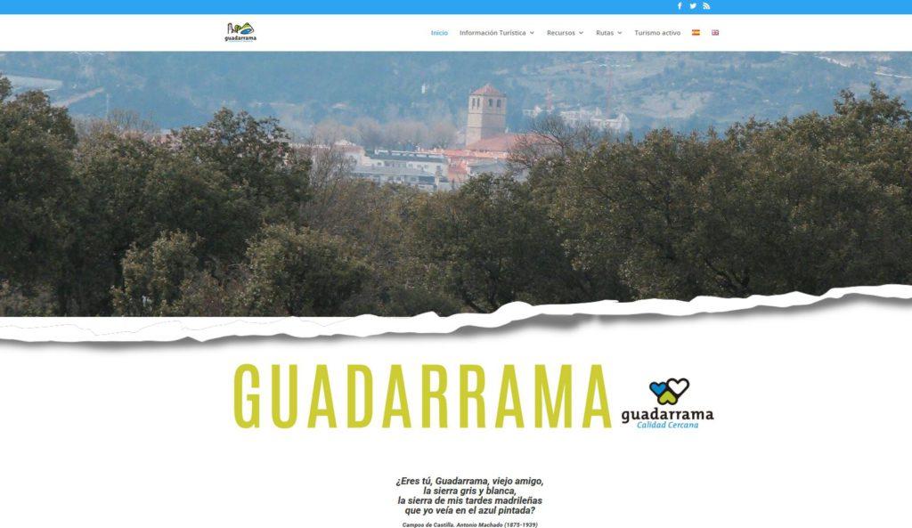 GUADARRAMA PRESENTA UNA NUEVA WEB TURÍSTICA EN ESPAÑOL E INGLÉS