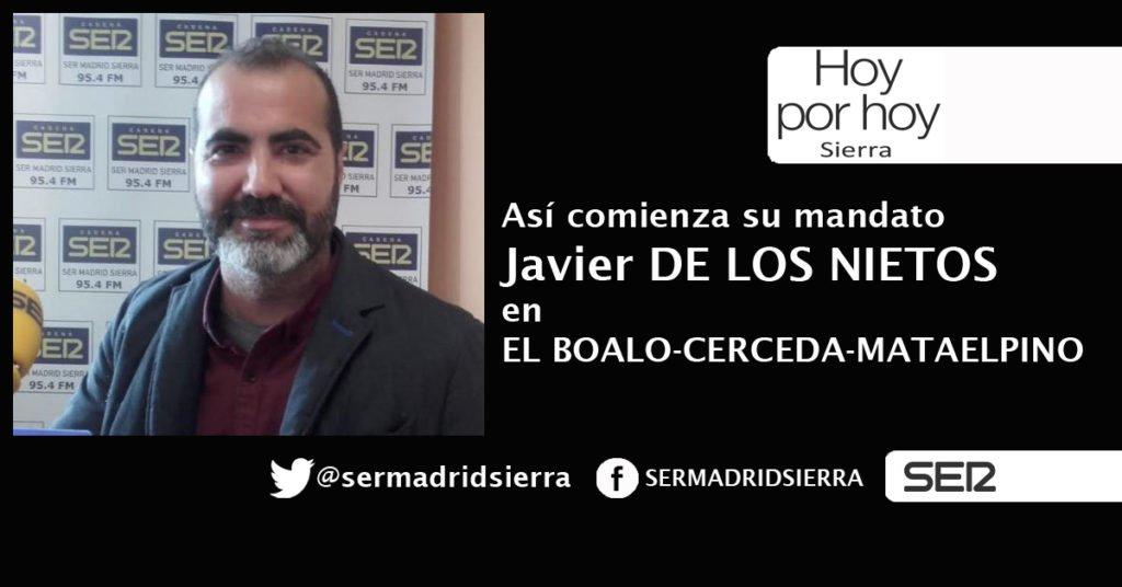 HOY POR HOY. NUEVO (Y TRANQUILO) MANDATO PARA JAVIER DE LOS NIETOS