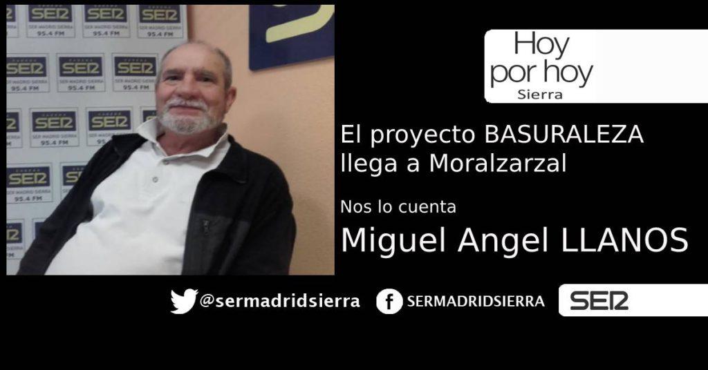 HOY POR HOY. EL PROYECTO BASURALEZA LLEGA A MORALZARZAL