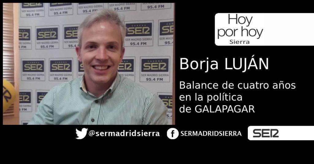 HOY POR HOY. ENTREVISTA A BORJA LUJÁN EN SU DESPEDIDA DE LA POLÍTICA MUNICIPAL