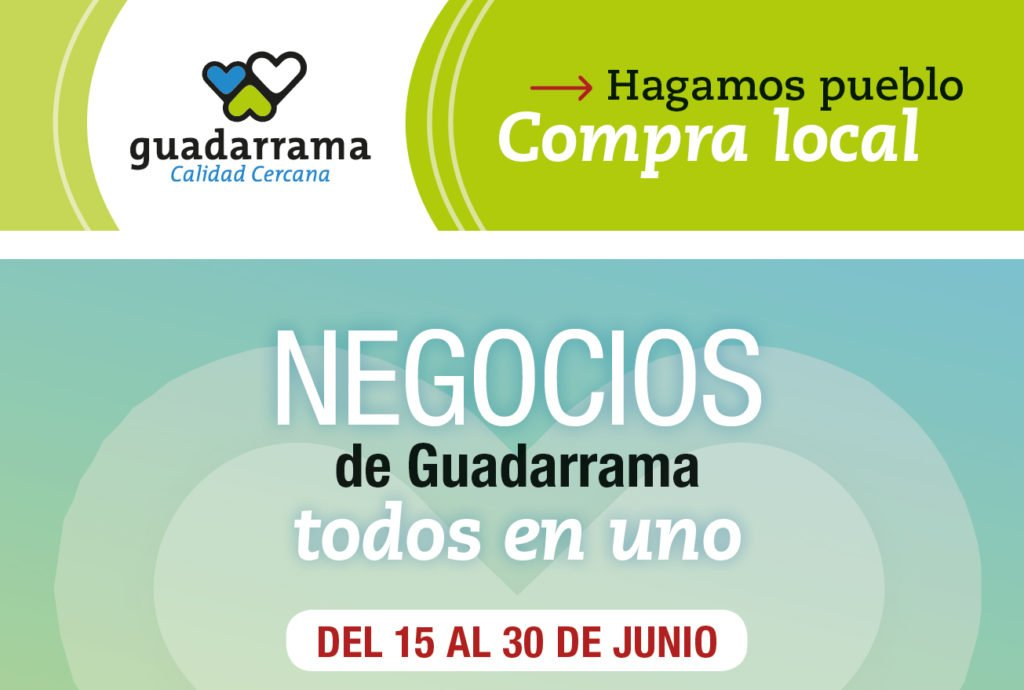 """LOS COMERCIOS DE GUADARRAMA INICIAN LA CAMPAÑA """"TODOS EN UNO"""" CON DESCUENTOS Y PROMOCIONES"""