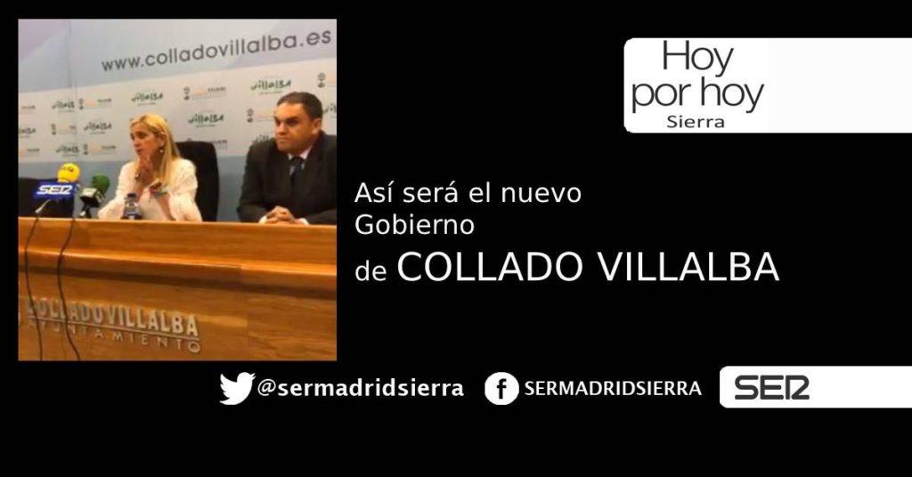 HOY POR HOY. ASÍ ES EL NUEVO GOBIERNO DE COLLADO VILLALBA