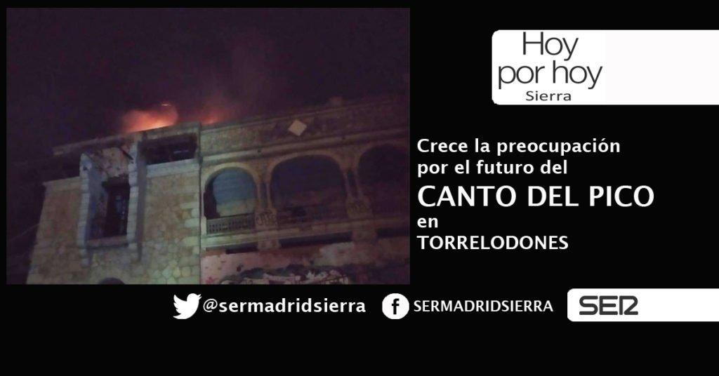 HOY POR HOY. PREOCUPA EL FUTURO DEL CANTO DEL PICO EN TORRELODONES
