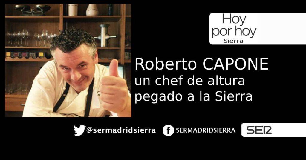 HOY POR HOY. CON EL CHEF ROBERTO CAPONE