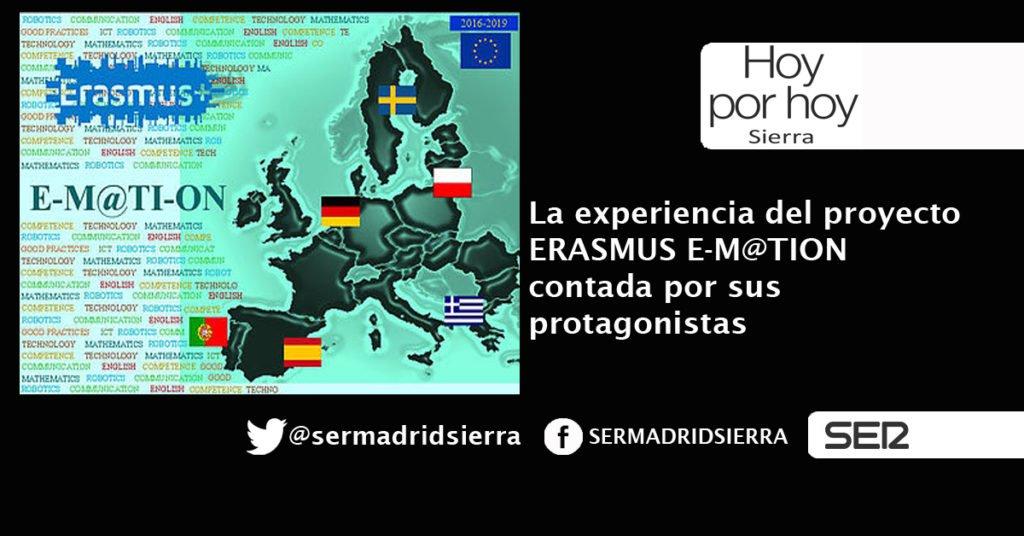 HOY POR HOY. EL PROYECTO ERASMUS E-MOTION VISTO POR SUS PROTAGONISTAS