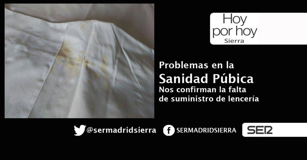 HOY POR HOY. SE CONFIRMAN LOS PROBLEMAS EN LOS HOSPITALES DE LA COMUNIDAD DE MADRID