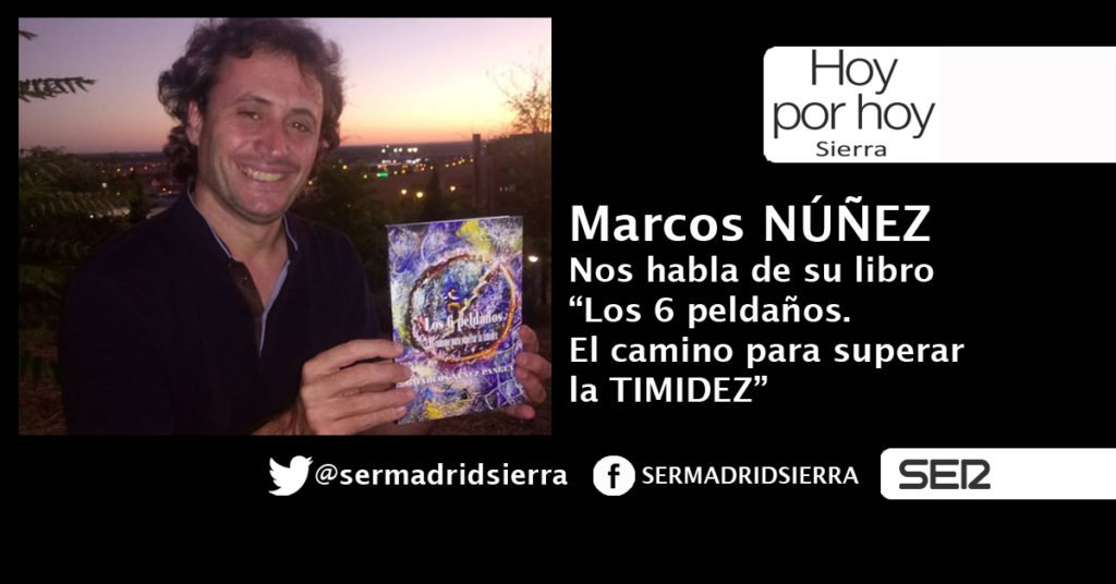 HOY POR HOY. HABLAMOS CON MARCOS NÚÑEZ DE SU FÓRMULA PARA VENCER LA TIMIDEZ