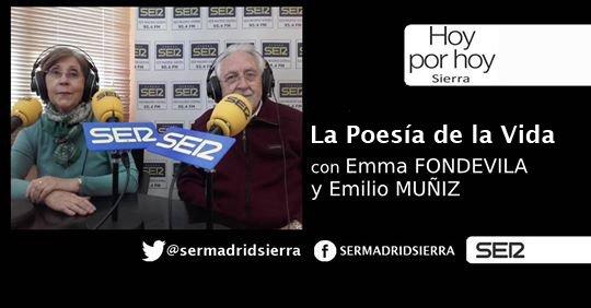 HOY POR HOY. LA POESIA DE LA VIDA CON EMILIO MUÑIZ Y EMMA FONDEVILA