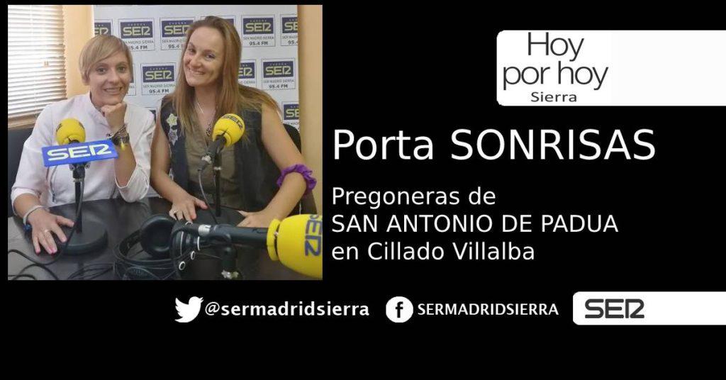 HOY POR HOY. PORTA SONRISAS, LAS PREGONERAS DE SAN ANTONIO DE PADUA