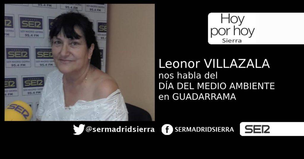 HOY POR HOY. LEONOR VILLAZALA NOS HABLA DEL DIA DEL MEDIO AMBIENTE EN GUADARRAMA