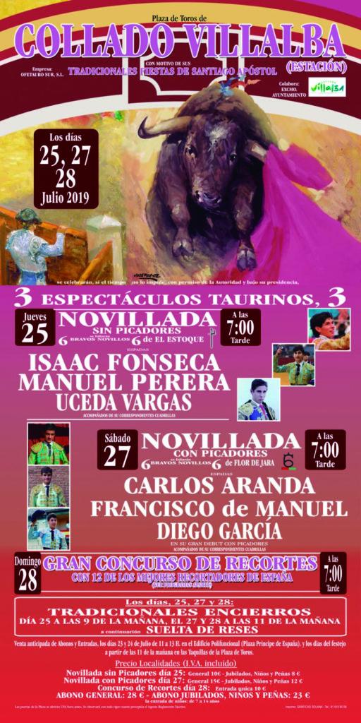 Arranca la programación taurina de la Feria de Santiago Apóstol