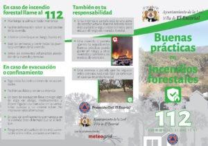 EL AYUNTAMIENTO DE EL ESCORIAL EDITA UNA GUÍA DE BUENAS PRÁCTICAS EN CASO DE INCENDIOS FORESTALES