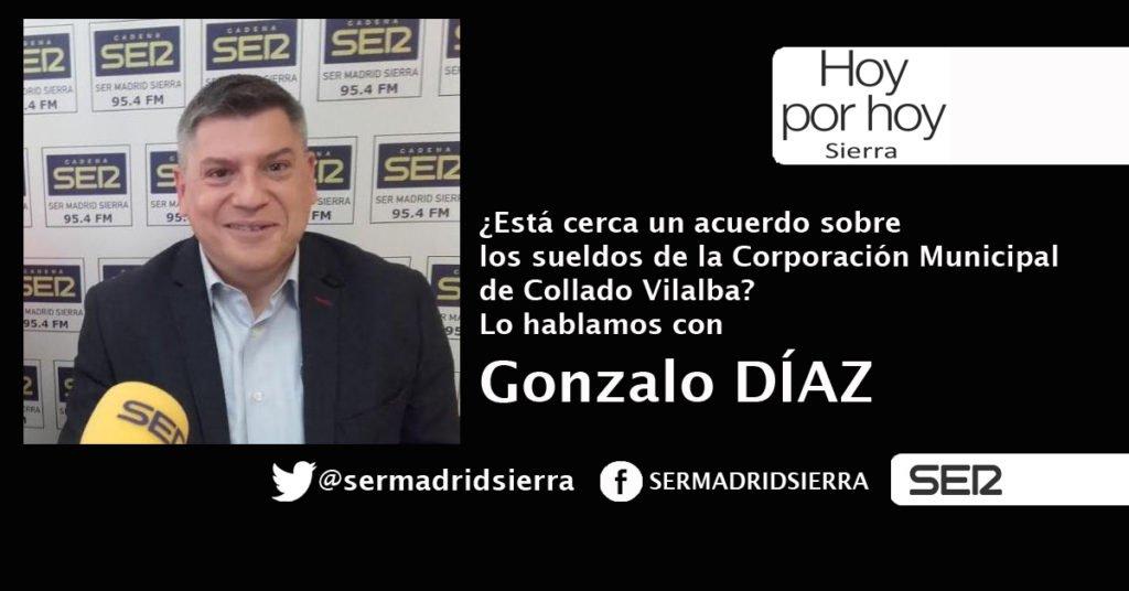 HOY POR HOY. HABLAMOS CON GONZALO DÍAZ (MÁS MADRID COLLADO VILLALBA)