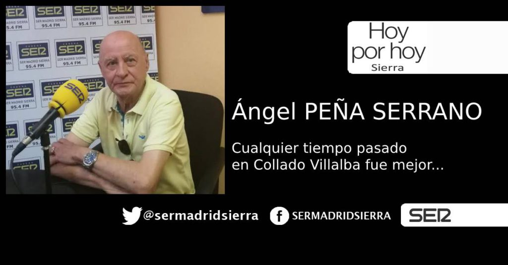 HOY POR HOY. RECORDAMOS LOS MEJORES TIEMPOS DE VILLALBA CON ANGEL PEÑA