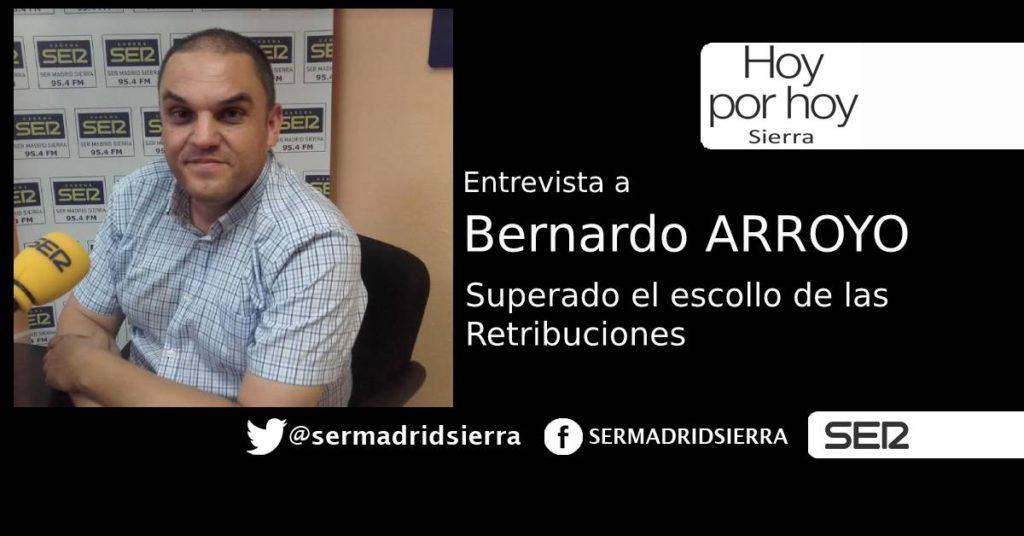 HOY POR HOY. ENTREVISTA A BERNARDO ARROYO TRAS EL ESCOLLO DE LAS RETRIBUCIONES