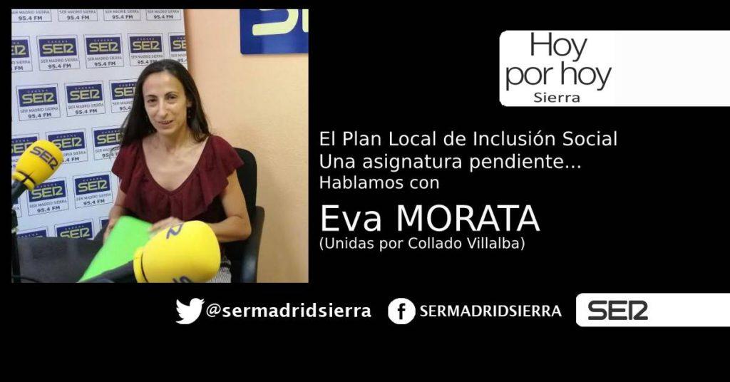 HOY POR HOY. EVA MORATA Y EL PLAN DE INCLUSIÓN SOCIAL