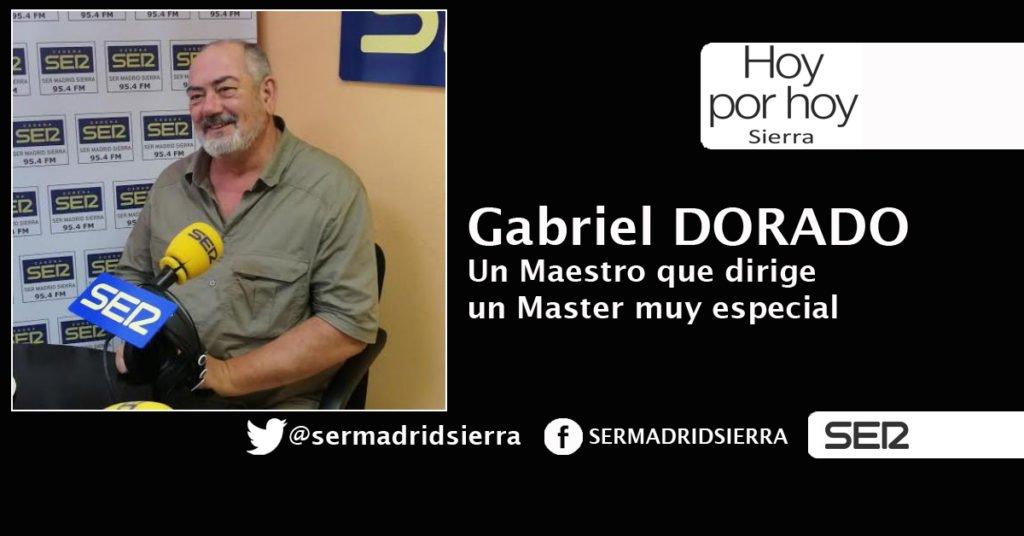 HOY POR HOY. ENTREVISTA A GABRIEL DORADO