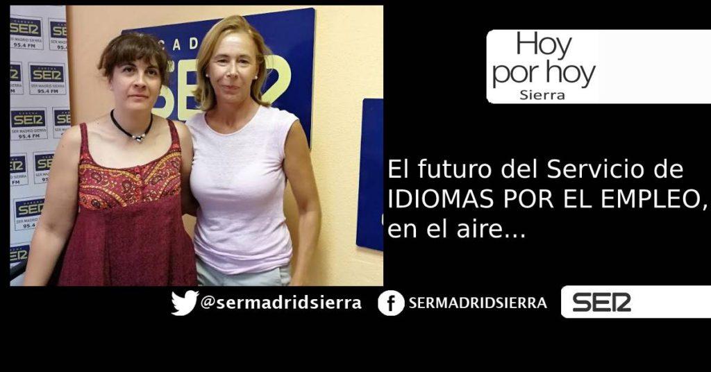 HOY POR HOY. EL FUTURO DEL SERVICIO IDIOMAS POR EL EMPLEO, EN EL AIRE