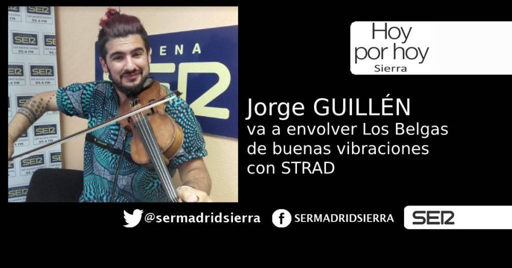HOY POR HOY. JORGE GUILLEN Y SU VIOLIN ESTA NOCHE EN LOS BELGAS