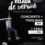 EL SÁBADO LLEGA UNA NUEVA PROPUESTA DE TIROLINAS NOCTURNAS  Y MÚSICA EN FORESTAL PARK MADRID-GUADARRAMA