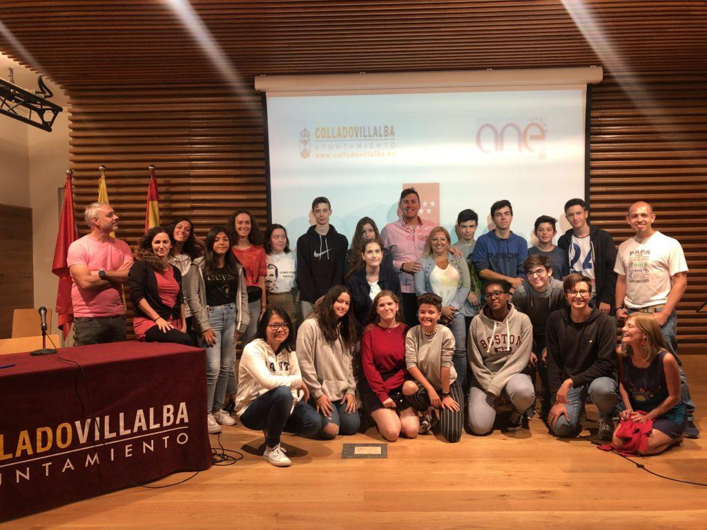 Encuentro de Intercambios Juveniles Erasmus+ en Collado Villalba
