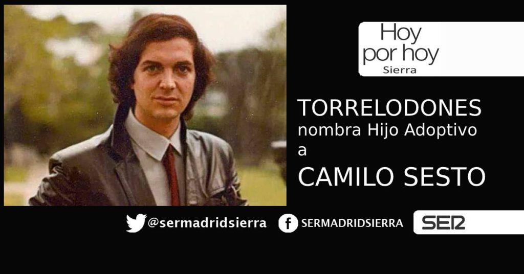 HOY POR HOY. Torrelodones nombra Hijo Adoptivo a Camilo Sesto