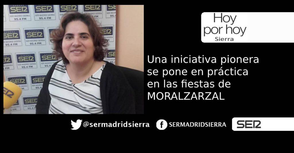 HOY POR HOY. UNA EXPERIENCIA PIONERA SE PONE EN MARCHA EN LAS FIESTAS DE MORALZARZAL