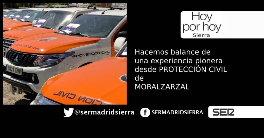 HOY POR HOY. PROTECCIÓN CIVIL Y SU EXPERIENCIA PIONERA ESTAS FIESTAS