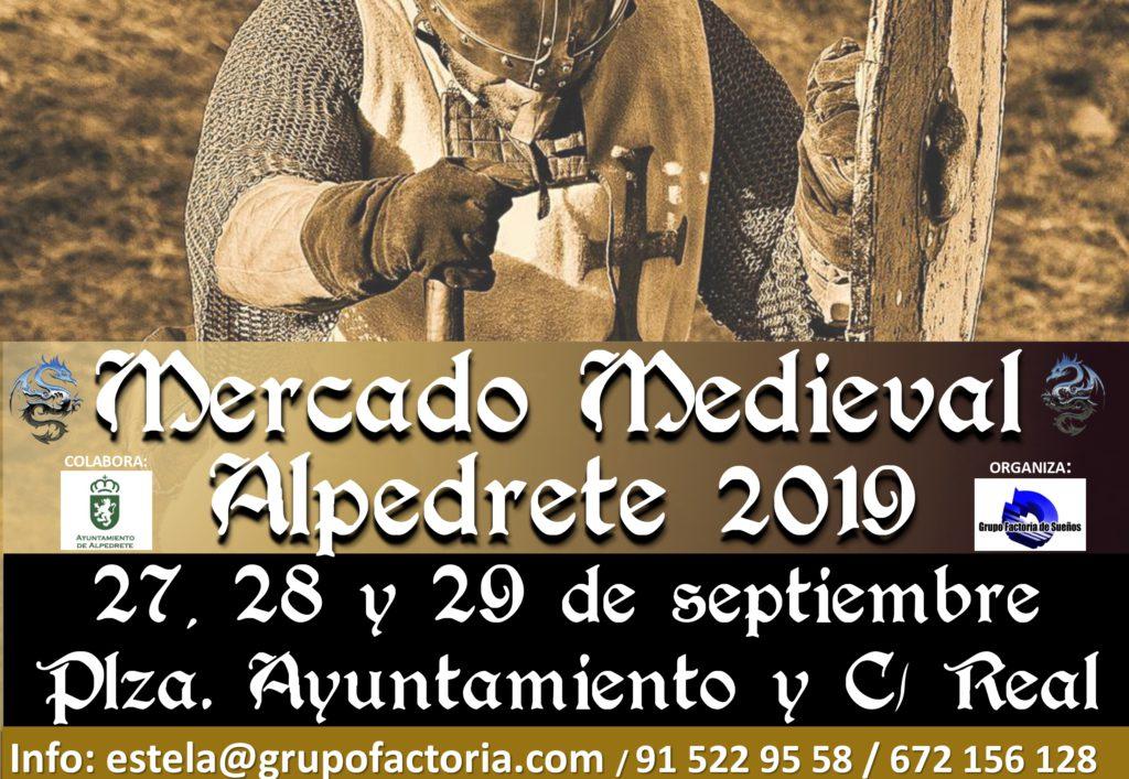 Este fin de semana, Alpedrete viaja al pasado con su Mercadillo Medieval