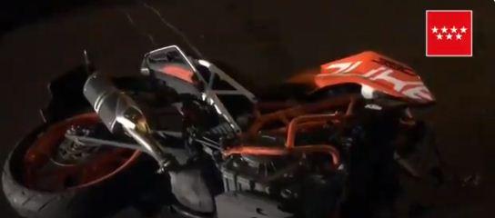 Fallece un motorista y otro resulta herido grave en un accidente en Collado Villalba