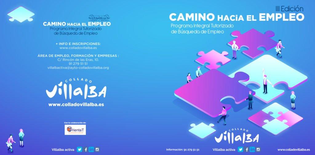 ARRANCA EL PROGRAMA «CAMINO HACIA EL EMPLEO 3.0» EN COLLADO VILLALBA