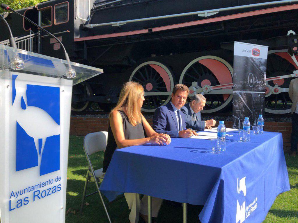 Las Rozas contará con una nueva locomotora en el barrio de Renfe en Las Matas