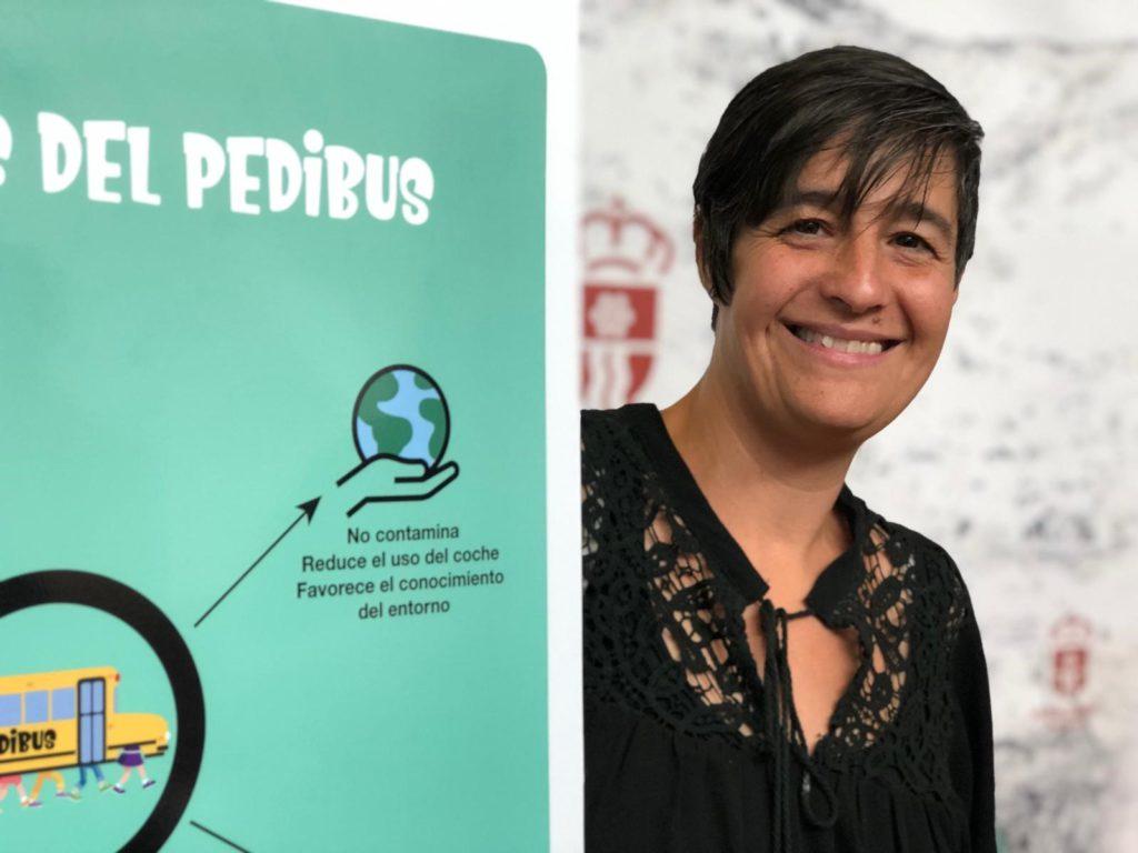 Pedibús, un nuevo servicio para que los escolares de Moralzarzal acudan caminando al cole