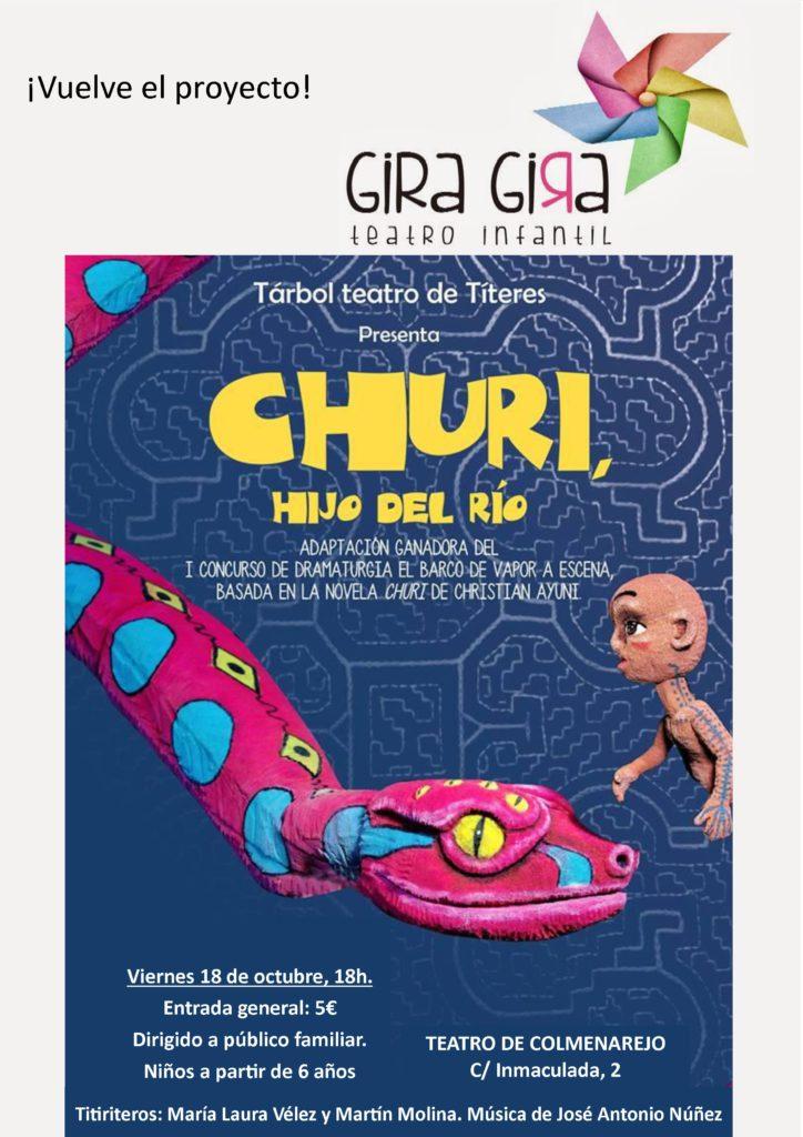 El cine y el programa Gira, Gira de artes escénicas para niños, platos fuertes de la agenda cultural de Colmenarejo