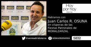 HOY POR HOY. ENTREVISTA A JUAN CARLOS RODRIGUEZ OSUNA