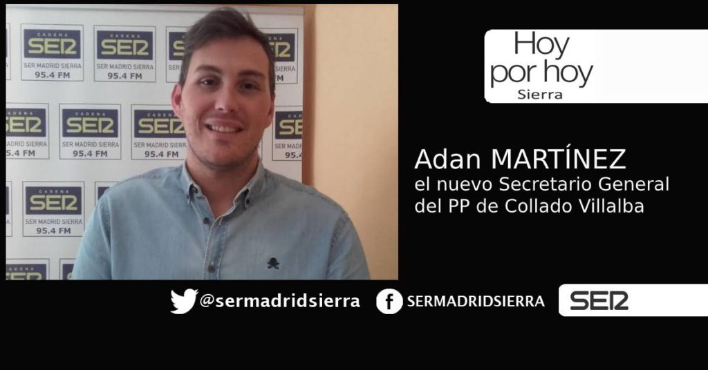 HOY POR HOY. Adan Martinez, nuevo secretario general del PP de C. Villalba