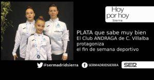 HOY POR HOY. EL CLUB ANDRAGA TRAJO LA PLATA DESDE LISBOA