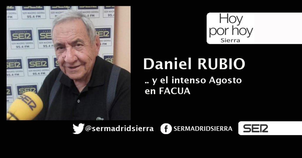 HOY POR HOY. AL HABLA CON DANIEL RUBIO, DE FACUA