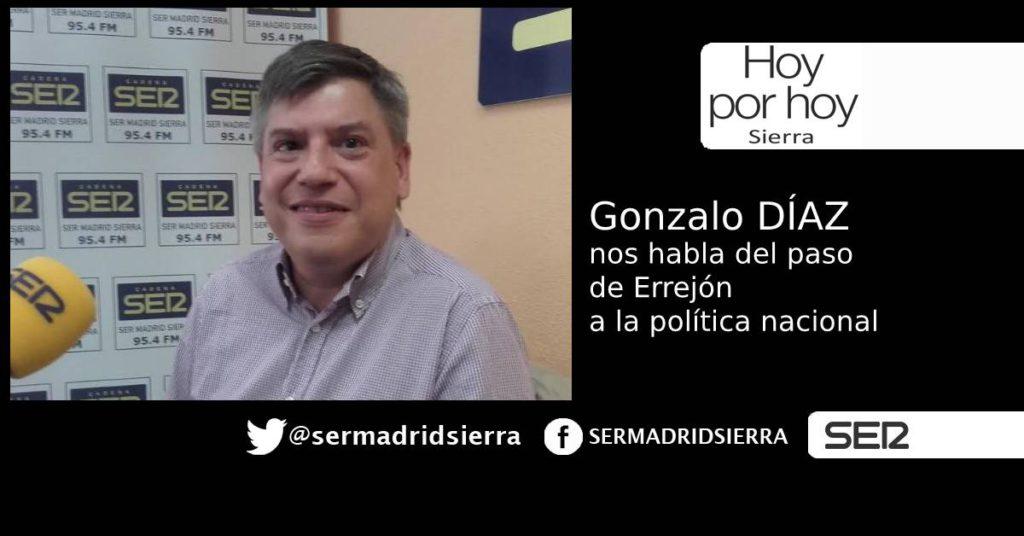 HOY POR HOY. TRAS EL PASO DE ERREJÓN, HABLAMOS CON GONZALO DÍAZ