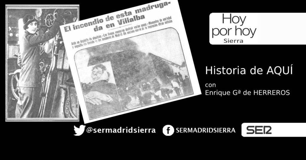 HOY POR HOY. HISTORIA DE AQUÍ, CON ENRIQUE GARCÍA DE HERREROS