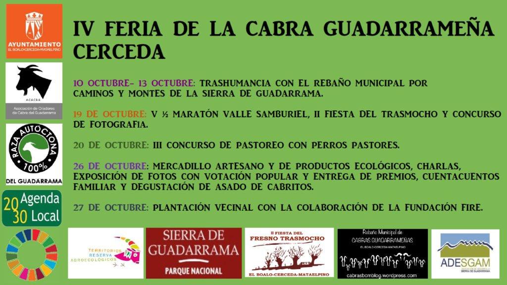 Jornadas por la Sostenibilidad en la Sierra de Guadarrama